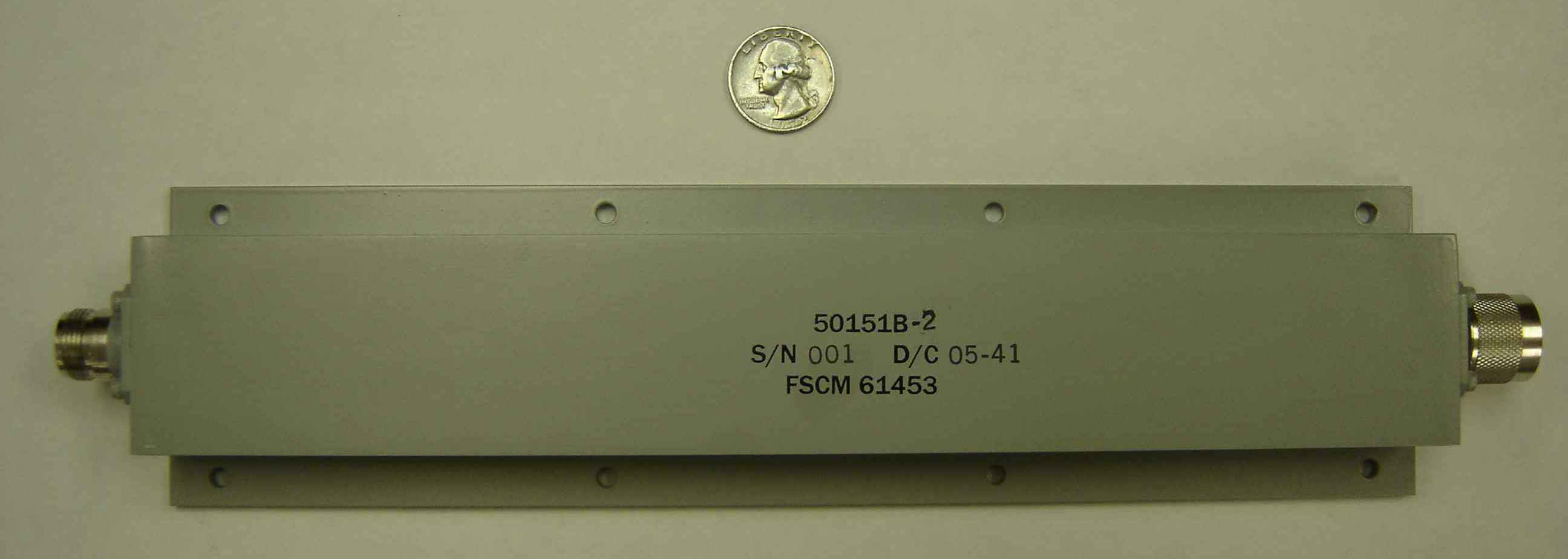 50151B-2 Low-loss High Rejection Bandstop Filter